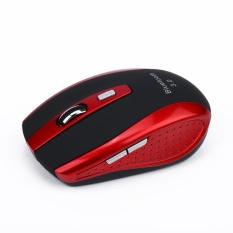 Mini Kantor Optik Ergonomis Nirkabel Bluetooth Mouse Mouse Dapat Disesuaikan 2400 Dpi dengan 6 Tombol untuk