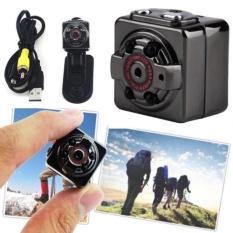 Mini HD 1080 P DV Kamera, dengan Penglihatan Malam Inframerah, Deteksi Gerak Suara Perekam Video Indoor/Outdoor Sport Home Surveillance Warna: Hitam