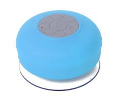 Harga Mini Hifi Waterproof Wireless Bluetooth Handsfree Mic Suction Speaker Shower Blue Yg Bagus