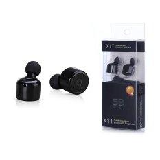 Harga Headphone Bluetooth X1T Csr 4 2 Mini Terlihat Kembar Benar Nirkabel Bluetooth Earphone Hitam Intl Origin