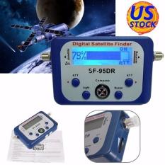 Mini LCD Digital Penemu Satelit Meter Kekuatan Sinyal Hidangan Duduk DirecTV Kompas-Intl