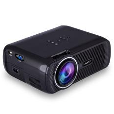 Mini LED Proyektor HD Proyektor Portabel (Hitam)