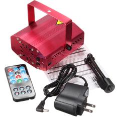 Toko Jual Mini Memimpin Tahap R G Proyektor Laser Pencahayaan Lampu Natal Pesta Disko Dj Remote Au Internasional