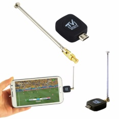 Mini Micro USB DVB-T TV Digital Mobile Tuner Stick Receiver Dongle untuk Android Phone-Intl