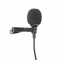 Mini Mikrofon Omnidirectional Mic dengan Clip On System Cocok untuk Merekam YouTube, Wawancara, Podcast-Intl