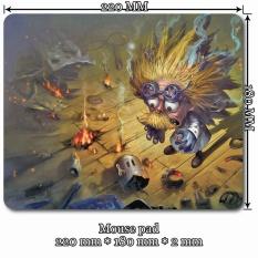 Mini Mouse Pad (Size: 22cm * 18cm * 0.2cm) for League of Legends LOL 218 Blast Zone Heimerdinger - intl