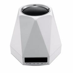 Jual Mini Multi Warna Flash Dipimpin Lampu Nirkabel Bluetooth Speaker Led Light Alarm Clock Stereo Subwoofer With Tf Aux Mp3 Colorful Speaker Putih Online Tiongkok
