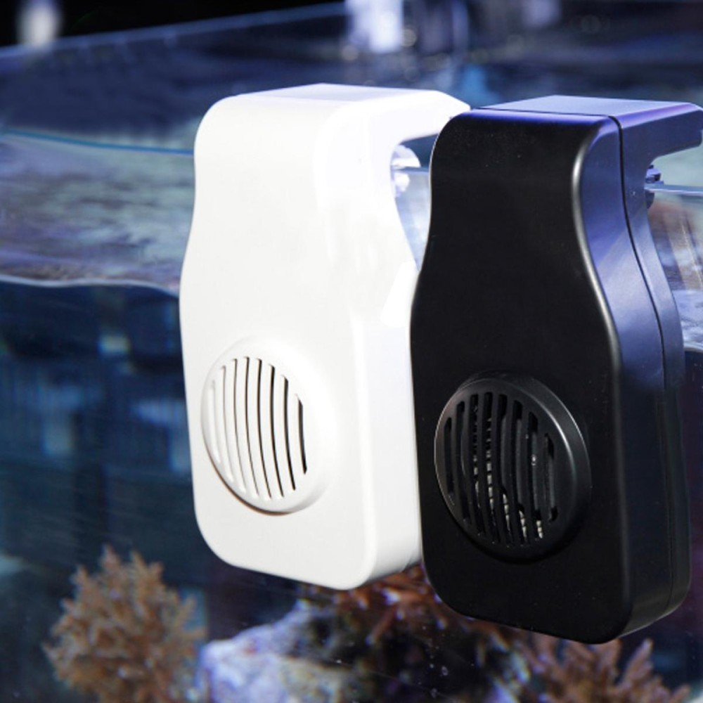 Mini Nano Cooling Fan Digantung Di Clip USB Charge Aquarium Tangki Ikan Dingin Chiller-Intl