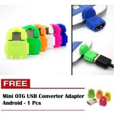 Mini OTG USB Converter Adapter Android - Buy 1 Get 1 - Random