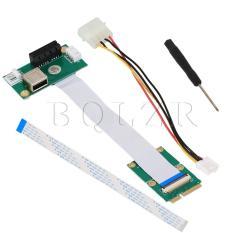 Mini PCI-E untuk PCI-E Express 1 x USB kartu dan Bangun
