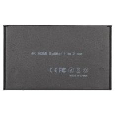 Mini Portable 1x2 1 Dalam 2 Out HDMI Splitter Dukungan 4 K X 2 K 3D Full HD 1080 P untuk HDTV DVD PS3 Proyektor Laptop-Intl