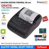 Jual Mini Portable Bluetooth Thermal Receipt Printer Zj 5802 Termurah