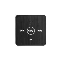 Toko Portabel Mini Klip Pada Sports Luar Room Gaya Mode Stereo Nirkabel Bluetooth Mp3 Pemutar Musik Hands Free 3 5Mm Audio Port Headset Kabel Headphone With Mikrofon Termurah