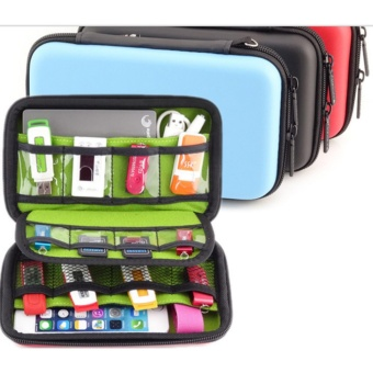Harga Mini Portable Produk Digital Pouch Tas Penyimpanan Perjalanan For Hdd U Disk Usb Flash Drive Earphone Kabel Data Kartu Bank Fullset Murah