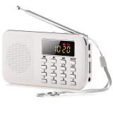 Harga Mini Portable Lcd Digital Fm Radio Speaker Usb Tf Card Mp3 Music Player With Led Light Intl Yg Bagus