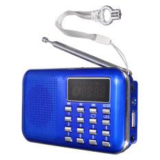 Toko Memimpin Digital Portabel Mini Usb Micro Sd Radio Fm Pembicara Disebut Tf Kartu Mp3 Pemutar Musik Biru Intl Lengkap Indonesia