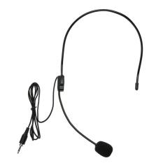 Mini Portable Headset Ringan 3.5 Mm Thread Jack Mikrofon Kondensor-Intl