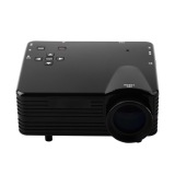 Situs Review Mini Portable Projector Led 100 Lumens Analog Tv Sd Card Usb Port Support 480X320P Gp7S