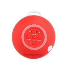 Mini Portable Wireless Stereo Bluetooth Speaker Outdoor Bentuk Bulat 3 Warna Mendukung TF Kartu Audio Player-Intl