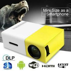 Mini Projector LED Proyektor Projektor YG300 Mini Theater KUNING