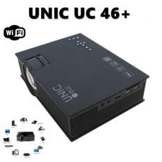 Review Terbaik Unic Uc46 Mini Projector Portable Wifi 1200 Lumens