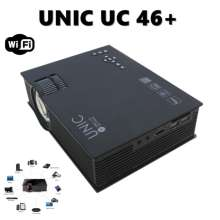 UNIC UC46  Mini Projector Portable WIFI 1200 LUMENS
