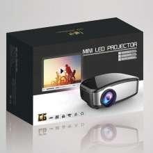 Mini proyektor cherlux c-6 portable projektor home theater projector murah bagus keluaran terbaru dengan TV tuner kecerahan 1200 lumens resolusi 800 x 480 Cheerlux c6