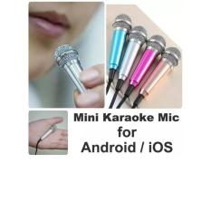 Mini Sing KARAOKE Mic For Android / IOS / PC  Wired Microphone