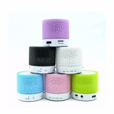 Promo Mini Speaker Bluetooth Led Bf 02 Randomcolor Universal