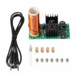 Dapatkan Segera Mini Tesla Coil Plasma Speaker Kit Bidang Elektronik Musik 15 W Diy Proyek Te763 Intl