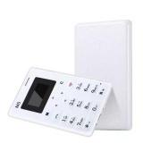Review Mini Tipis Aiek M5 Ponsel Alarm 128 M Storage Low Radiasi Anak Hitam