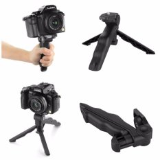 Mini Tripod Multifungsi 2in1 - DSLR GoPro Xiaomi Yi Camera Digital Smartphone - Hitam