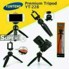 Mini Tripod Yunteng Yt-288 kokoh cocok HP Tablet DSLR