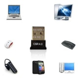Beli Mini Usb Bluetooth V4 Dongle Dual Mode Wireless Adapter For Laptop Pc Intl Cicil