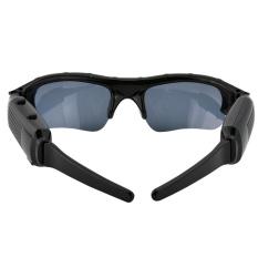 Mini Video Recorder Sunglasses Spy Tersembunyi Kamera (Hitam)-Intl