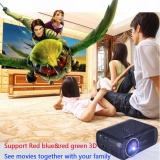 Kualitas Mini Wifi 7000 Lumens 1080 P 3D Hd Led Portable Projector Theater Home Cinema Intl Not Specified