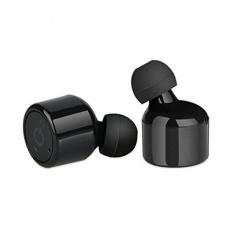 Mini Headset Nirkabel Linkstyle Mini Kembar Earphone Bluetooth V4.2 Earbud Stereo Earphone Dual Headphone
