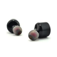 Mini Nirkabel Headphone Sport Strereo Bluetooth Earbud untuk Iphone7/7 Plus Hitam-Intl