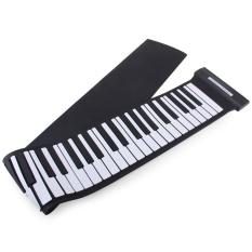 Beli Mobil Kecil Putih Dan Hitam Md88S Usb Midi Roll Up Piano Kit Dengan 88 Kunci Internasional Pake Kartu Kredit