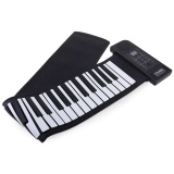 Harga Mobil Kecil Putih Dan Hitam Pu61S Usb Midi Roll Up Piano Kit Dengan 66 Keys 100 240 V Intl Online