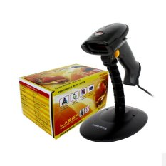 Toko Minipos Mp6200A Laser Barcode Scanner Auto Scan Auto Trigger 32 Bit Hitam Online Terpercaya
