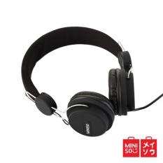 Jual Miniso Official Comfortable Headphone Model Hm094 Black 05Mn 5414 Di Indonesia