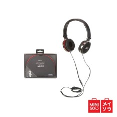 Harga Miniso Official Comfortable Headphone Model Hm700 Black 05Mn 5116 Miniso Terbaik