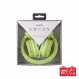 Beli Miniso Official Comfortable Headphone Model Hm094 Green 05B5 5452Mn Kredit Indonesia