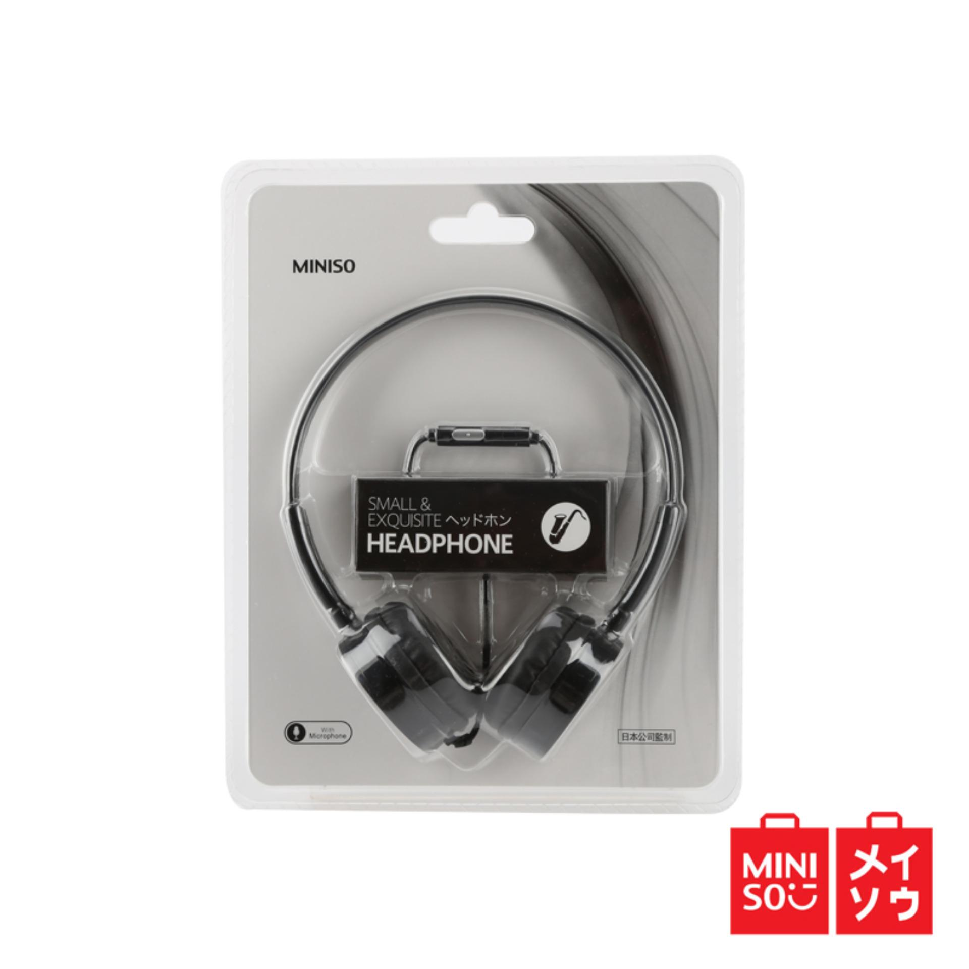 Miniso Official Lovely Headphone Diskon Akhir Tahun