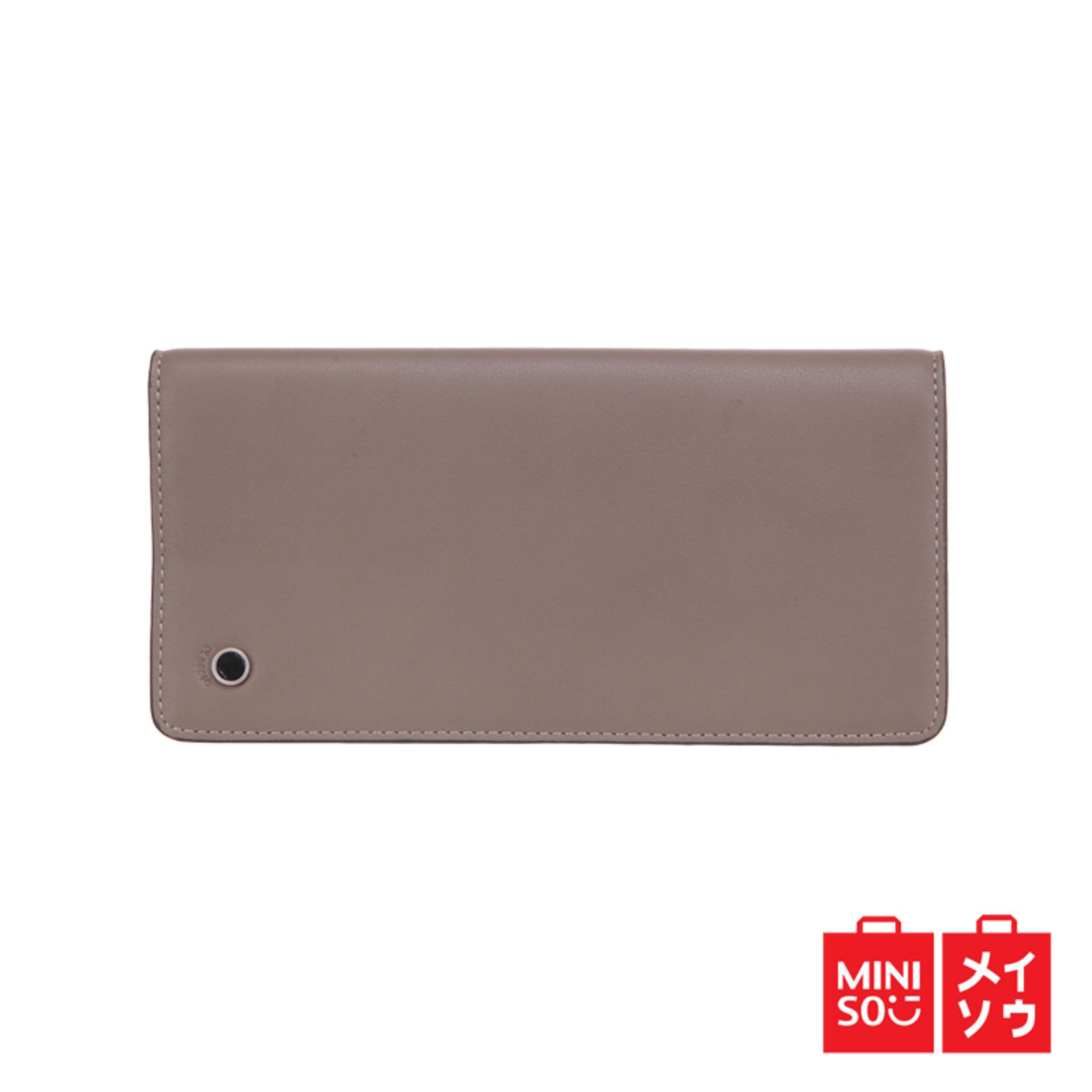Jual Miniso Official Men S Long Wallet Miniso Original