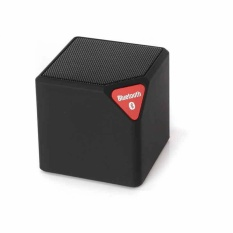 Mini X3 Nirkabel Bluetooth Speaker Outdoor Kecil Kotak Audio mini Portable Radio Kartu Cube Subwoofer-hitam-Intl
