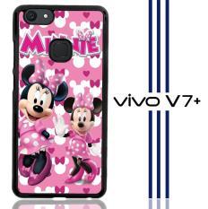 Minnie Mouse D0343 Casing Vivo V7 Plus Custom Hard Case