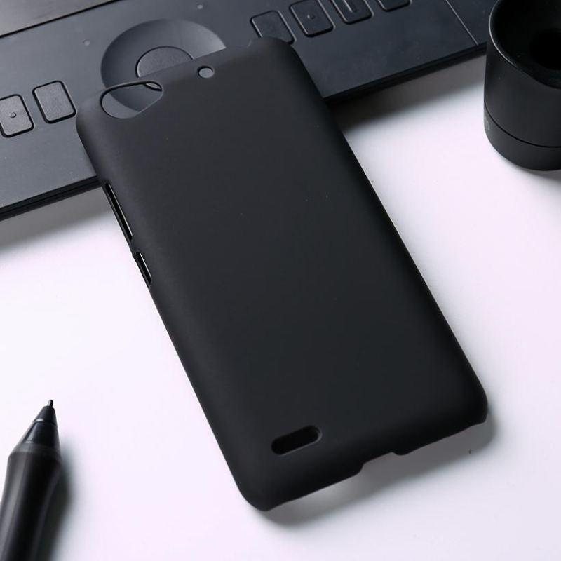 ZZOOI Minyak Berlapis Karet Kasus Telepon untuk ZTE Blade L4 A460 5.0 Inch Meliputi Phone Back Plastik Telepon Matte Case Tas Perumahan Protector Shell Hood-Intl