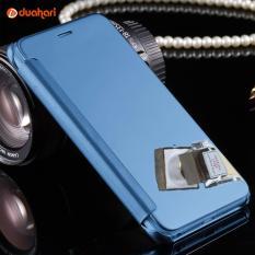 Mirror Leather Case Untuk Iphone 6 6S Plus Casing Hardcase Flip Cover Iphone 6 Plus Original